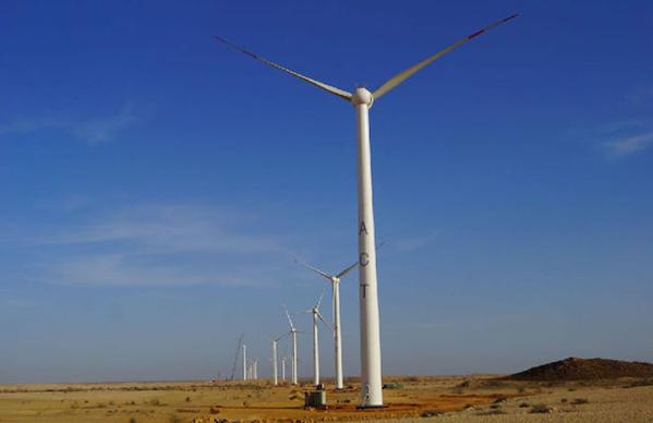 Windkraftanlage Gujarat / Indien